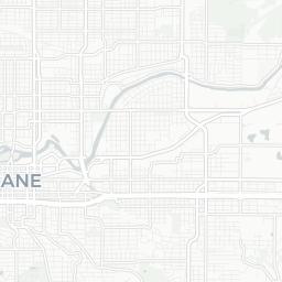 Spokane Mapnificent Dynamic Public Transport Travel Time Maps