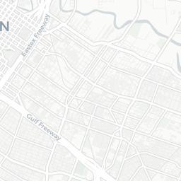 Mapa turstico de Houston Plano de Houston