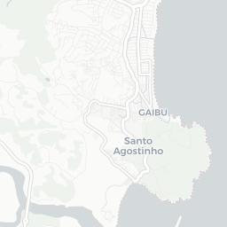 Mapa Turístico De Cabo De Santo Agostinho Plano De Cabo De Santo - Cabo de santo agostinho map