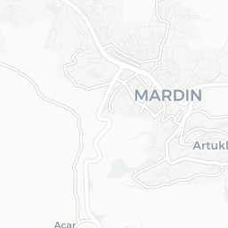 Map of Mardin City Tourist guide of Mardin City
