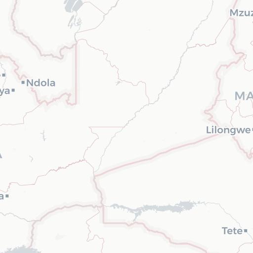 Districts Zimbabwe 2007 NYU Spatial Data Repository