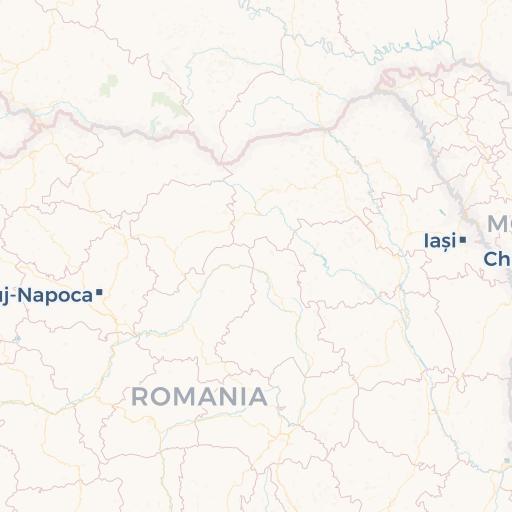 Cartina Aeroporti Romania.Mappa Della Romania Cartina Interattiva E Download Mappe In Pdf Romaniaturismo It